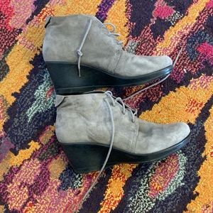 Grey dansko booties size 42